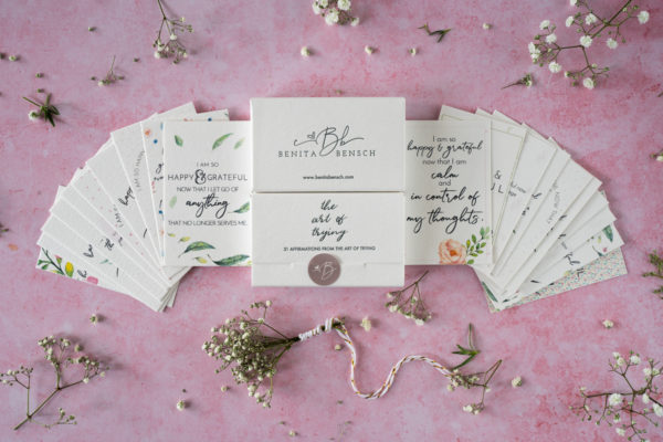 The Art of Trying Affirmation Cards