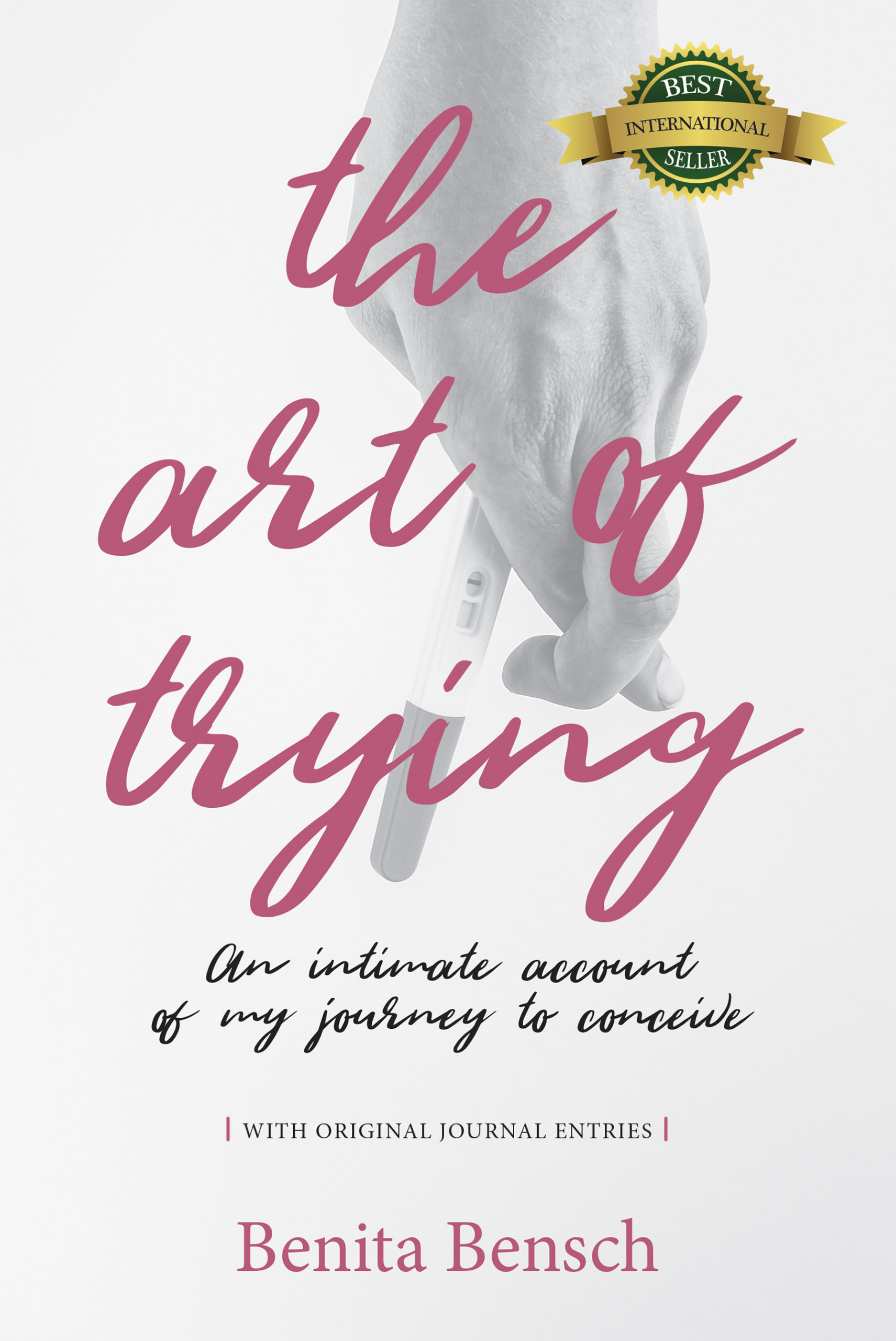 The Art of Trying - front cover