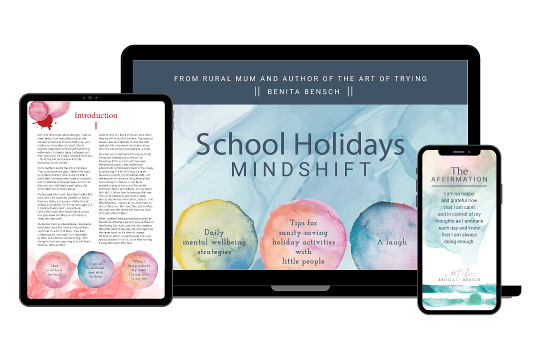 Benita Bensch - School Holiday E-Book